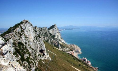 Zdjęcie HISZPANIA / Andaluzja / Gibraltar / The top of the Rack