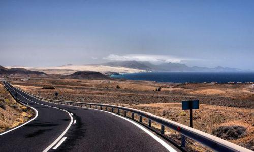 Zdjęcie HISZPANIA / Fuerteventura / Fuerteventura / Droga do zatracenia