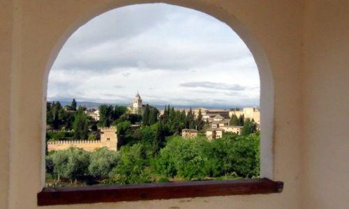 Zdjecie HISZPANIA / Andaluzja / Granada / W ramce...
