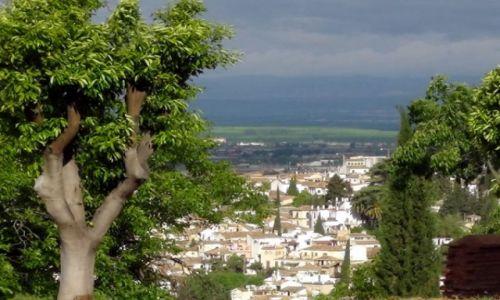 Zdjęcie HISZPANIA / Andaluzja / Granada / Deszczowa Granada