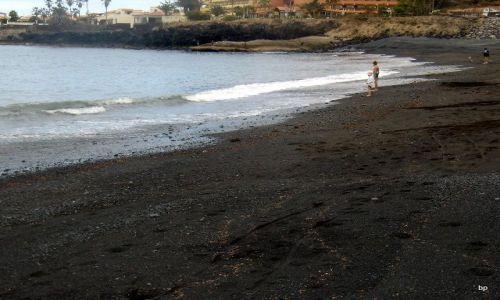 Zdjecie HISZPANIA / Wyspy Kanaryjskie, Teneryfa / La Caleta / Czarna plaża
