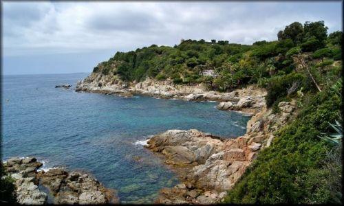 HISZPANIA / Katalonia / Lloret de Mar / Wybrzeża Lloret de Mar