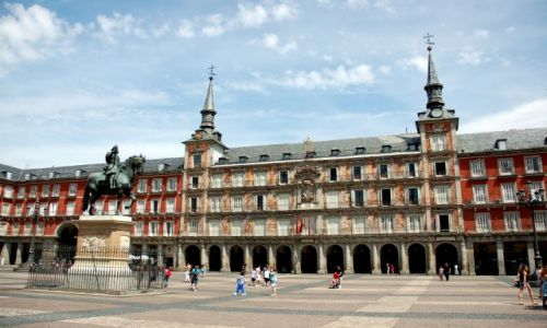 Zdjęcie HISZPANIA / Kastylia / Madryt, Plaza Mayor / Spacer po Madrycie.