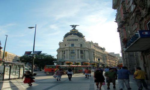 Zdjęcie HISZPANIA / Kastylia / Madryt, Metropolis / Spacer po Madrycie.
