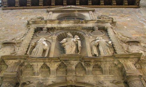 Zdjęcie HISZPANIA / Aragonia / Jaca / starówka-detal
