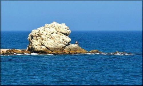 Zdjęcie HISZPANIA / Katalonia / wybrzeże / Wędkowanie w błękicie