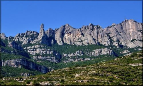 HISZPANIA / Katalonia / Montserrat / Montserrat