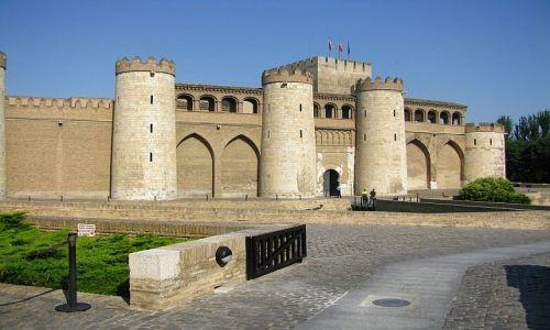 Zdjęcie HISZPANIA / Aragonia / Saragossa / mauretański pałac Aljaferia
