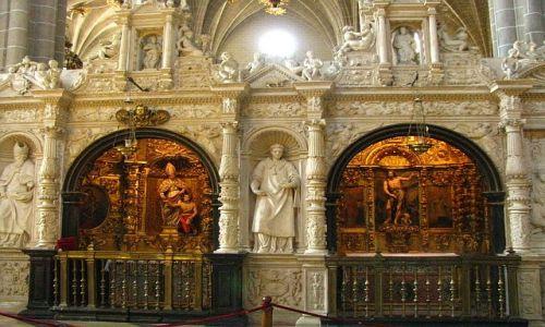 Zdjęcie HISZPANIA / Aragonia / Saragossa / Katedra La Seo - wnętrze