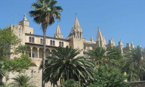 Zdjecie HISZPANIA / Majorka / Palma de Majorka / katedra La Seu