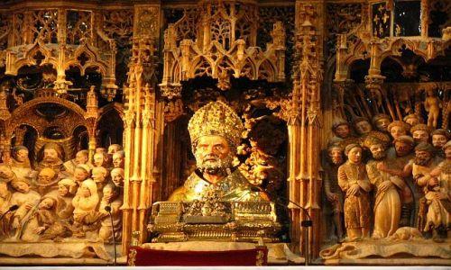 Zdjęcie HISZPANIA / Aragonia / Saragossa / Katedra La Seo - detal