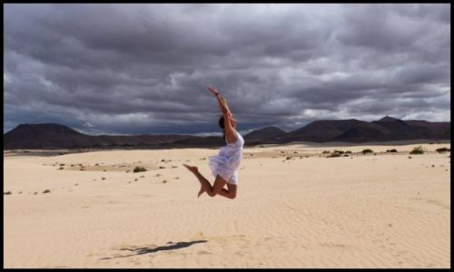 Zdjecie HISZPANIA / Fuertaventura / Fuertaventura / Edek leci