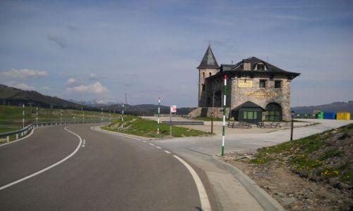 Zdjecie HISZPANIA / Pireneje / Port de la Bonaigua / Pół na Pół