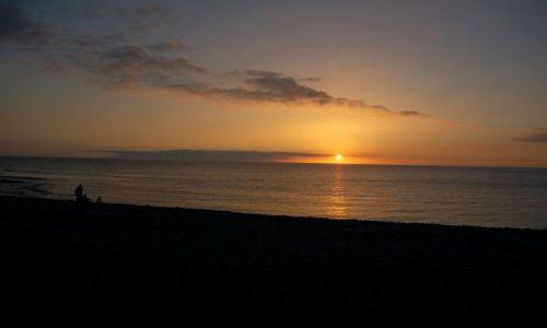 Zdjecie HISZPANIA / Teneryfa / Costa Adeje / Zachód słońca w Costa Adeje.