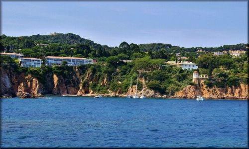 Zdjecie HISZPANIA / Katalonia / Rejs katamaranem: Blanes-Lloret de Mar-Tossa de Mar / Costa Brava