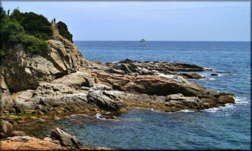 Zdjecie HISZPANIA / Katalonia, Costa Brava / Rejs katamaranem: Blanes-Lloret de Mar-Tossa de Mar / Costa Brava