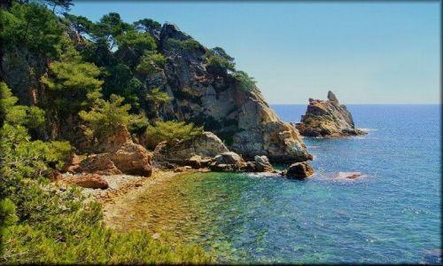 HISZPANIA / Katalonia, Costa Brava / Rejs katamaranem: Blanes-Lloret de Mar-Tossa de Mar / Costa Brava