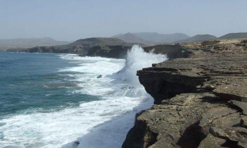Zdjecie HISZPANIA / Fuerteventura / Fuerteventura / Klif