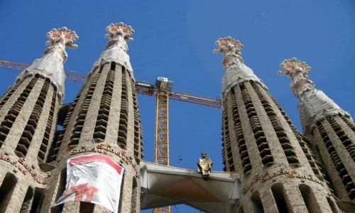 Zdjęcie HISZPANIA / Catalonia / Barcelona / Sagrada Familia