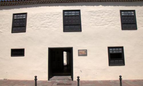 Zdjecie HISZPANIA / La Gomera / La Gomera - Canary Islands / Dom Krzysztofa Kolumba