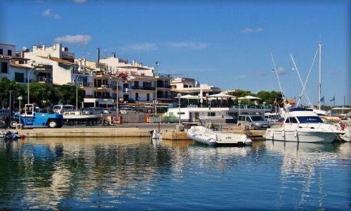 HISZPANIA / Majorka / Portopetro / Malowniczy port Portopetro