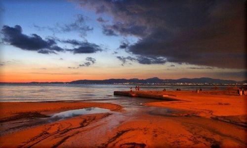 Zdjecie HISZPANIA / Majorka / El Arenal / Po zachodzie słońca