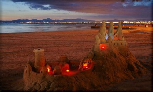 Zdjecie HISZPANIA / Majorka / El Arenal / KONKURS : Zamki na piasku