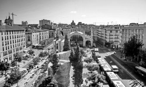 HISZPANIA / Aragon / Zaragoza / Główny plac W Saragosie