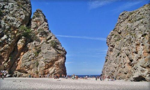 Zdjecie HISZPANIA / Majorka / Torrent de Pareis / Torrent de Pareis - plaża