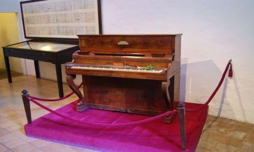 Zdjecie HISZPANIA / Majorka / Valldemossa / Pianino Chopina