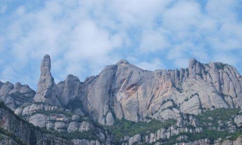 Zdjecie HISZPANIA / Katalonia / Katalonia / Góry Monserat
