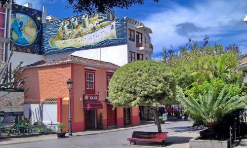 HISZPANIA / La Palma / Los Llanos / Los Llanos, miasteczko na zachodniej połowie wyspy