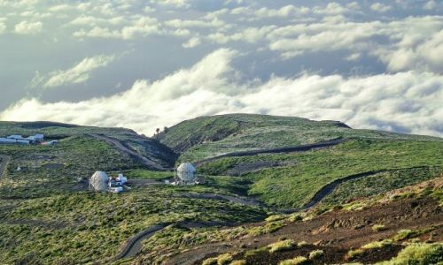 Zdjecie HISZPANIA / La Palma / Caldera de Taburiente / Observatorium