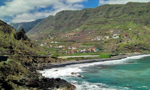 Zdjęcie HISZPANIA / La Gomera / Hermigua / Hermigua nad zatoką