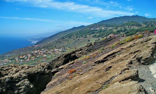 HISZPANIA / La Palma / Los Canarios / Imponujący zachodni brzeg - przyszły twórca tsunami