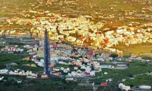 Zdjęcie HISZPANIA / La Palma / los llanos / Los Llanos pod koniec dnia
