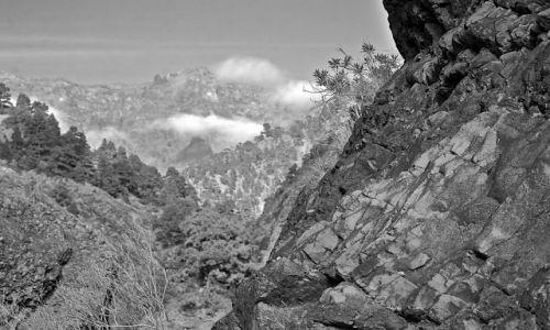 Zdjęcie HISZPANIA / La Palma/Wyspy Kanaryjskie / caldera de taburiente / caldera de taburiente