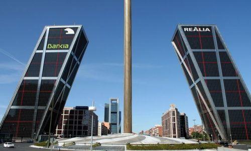 Zdjęcie HISZPANIA / - / Madryt / Dwie wieże