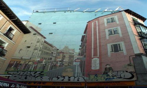 Zdjęcie HISZPANIA / - / Madryt / Elewacja 3D ;)