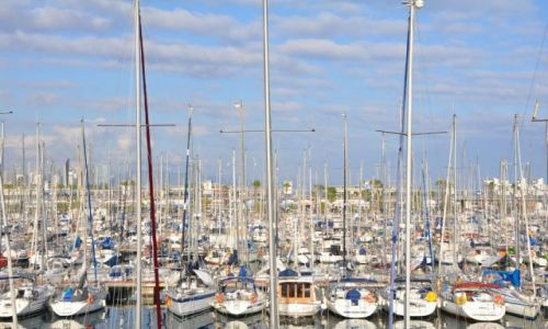 Zdjecie HISZPANIA / Katalonia / Barcelona / Port Olimpijski