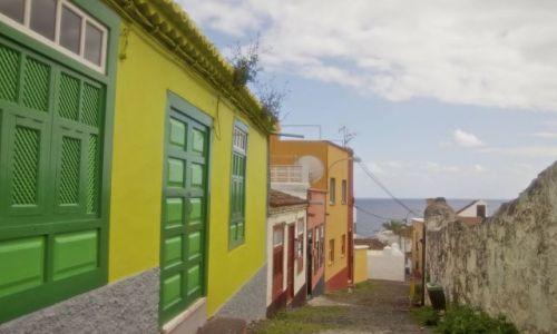Zdjęcie HISZPANIA / LA Palma/Wyspy Kanaryjskie / santa cruz de la palma / slodka uliczka