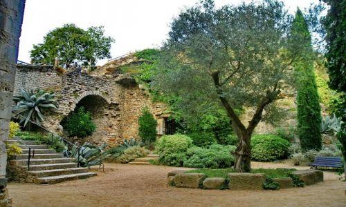 Zdjęcie HISZPANIA / Katalonia / Girona / Ogród katedralny w Gironie