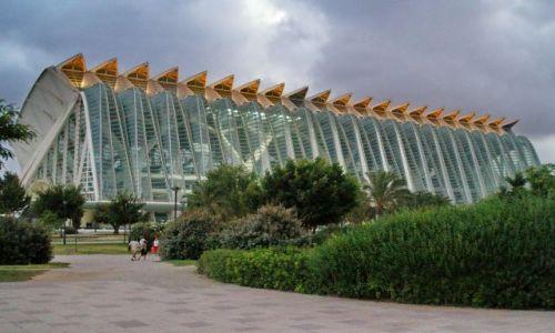Zdjęcie HISZPANIA / Walencja / Walencja / Miasto Sztuki i Nauki Calatravy .... w Valencji :)