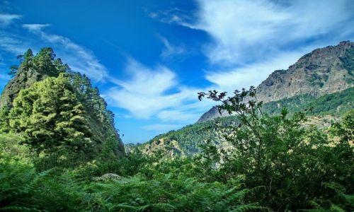 Zdjęcie HISZPANIA / La Palma / Caldera de Taburiente / Podążając szlakiem wulkanicznym