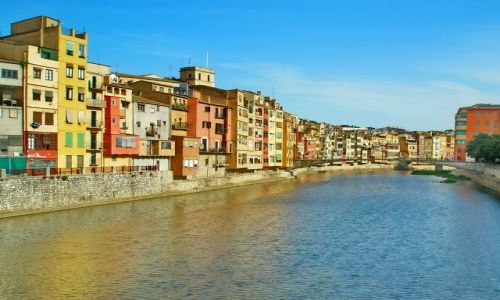 Zdjęcie HISZPANIA / Katalonia / Girona / Girona nad Terem
