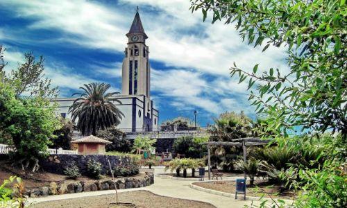Zdjecie HISZPANIA / La Palma / Los Llanos / Park w Los Llan