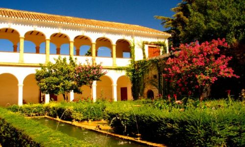 Zdjecie HISZPANIA / Andaluzja / Granada / Alhambra o poranku