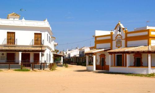 Zdjecie HISZPANIA / Andaluzja / El Rocio / El Rocio, dziki zachód