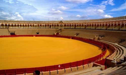 Zdjecie HISZPANIA / Andaluzja / Sevilla / Plaza de Toros de la Real Maestranza de Caballería de Sevilla