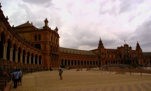 Zdj�cie HISZPANIA / Andaluzja / Sevilla / Plac hiszpa�ski